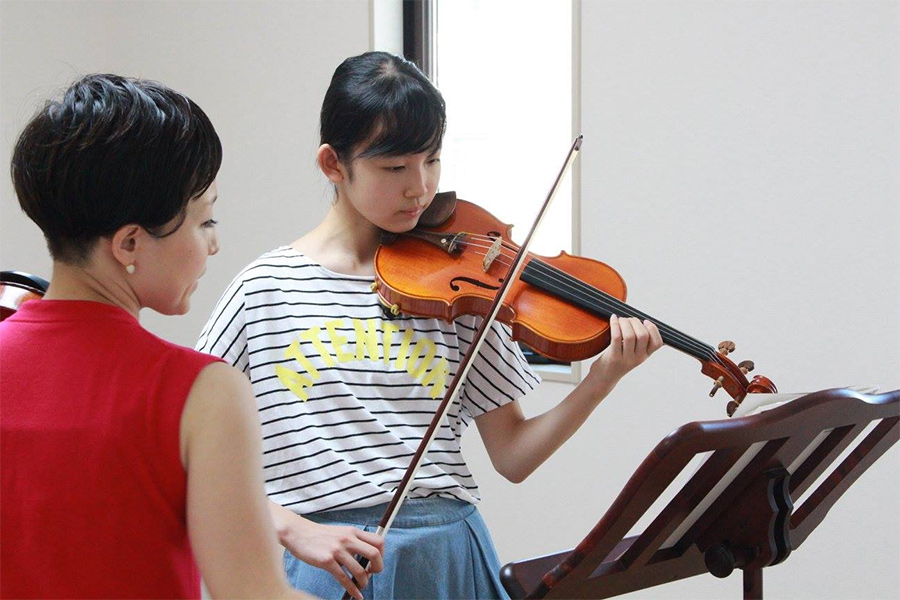 【バイオリン/ピアノ】レッスンのご案内のイメージ